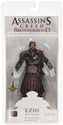 NECA Assassin,S Creed Brotherhood Ezio Ebony Assassin