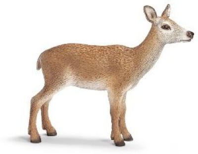 Schleich Toys Red Deer Cow 14630