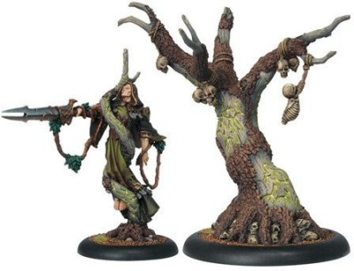 Privateer Press Hordes Circle Orboros Cassius And Wurmwood Model Kit