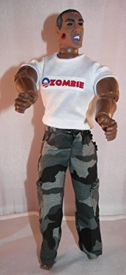 HEROBUILDERS Barrack Obama Zombie Limited Edition Only 2000 Units Will