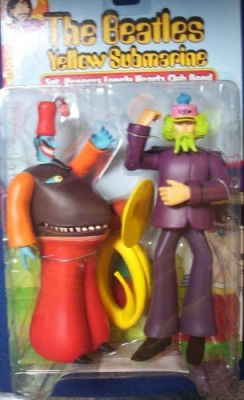 Sgt. Peppers Lonely Heart Club Band Beatles Yellow Submarine: George Harrison McFarlane With The Snapping Turk