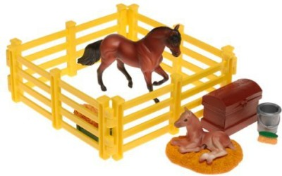 Reeves International Inc. Breyer Stablemates New Arrival Play Set