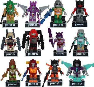 Hasbro Transformers Kreo Micro Changers Complete Set Of 12 Minis