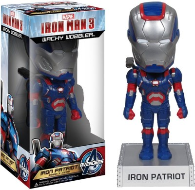 Funko Marvel Movie 3: Iron Patriot Wacky Wobbler