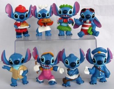 Lilo & Stitch Lilo And Stitch 8 Piece Set Featuring Chef Stitchhula