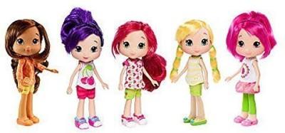 Strawberry Shortcake Berry Best Adventure Collection - 5 Doll Set