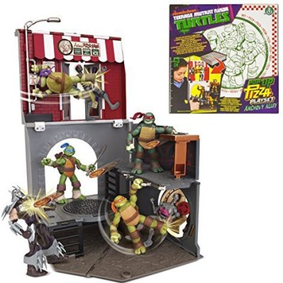 Teenage Mutant Ninja Turtles Popup Pizza Anchovy Alley Playset