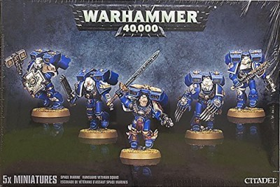 Unknown 2013 Space Marine Vanguard Veteran Squad Plastic