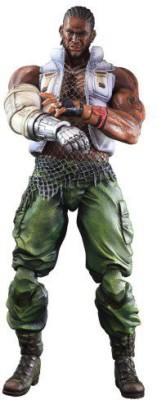 Square Enix Final Fantasy Advent Children Barret Wallace Play Arts Kai