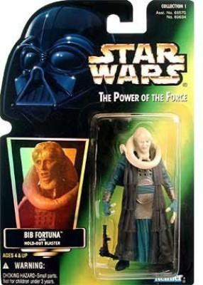 Star Wars Power Of The Force Green Card Bib Fortuna
