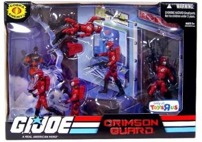 G I Joe Exclusive Troop Builders Set Cobra Crimson Guard