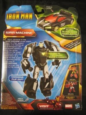 Iron Man Transformers Crossover War Machine Vehicle To