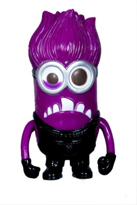 Montez Minions toy with light and sound - purple