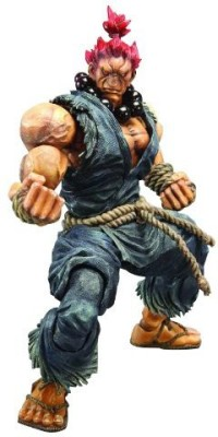 Square Enix Street Fighter Iv Play Arts Kai Akuma