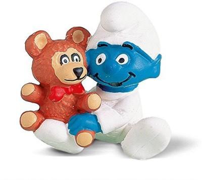 Schleich Ba Smurf With Teddy