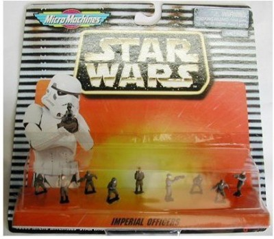 Micro Machines Star Wars Micro Machine Imperial Officers(Multicolor)
