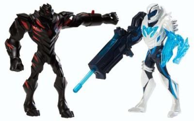 Max Steel Battle Pack Vs Dredd