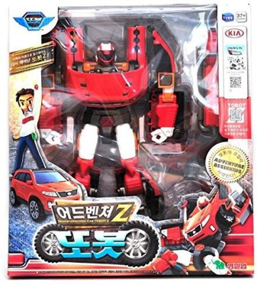 YOUNG TOYS Tobot Adventure Zkorean Animation Robot Character Young