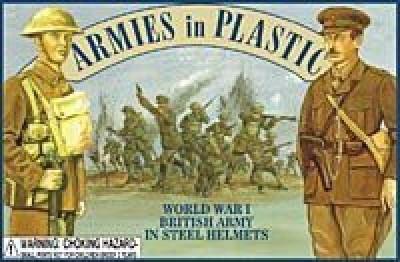 Armies in Plastic British Army In Steel Helmets (20) 132