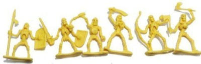 Toy Major Skeleton Warrior 20 Piece 2 Inch Plastic Set