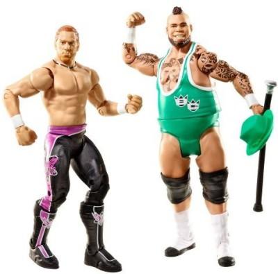 Mattel Wwe Series 20 Battle Pack Curt Hawkins Vs Brodus Clay 2Pack