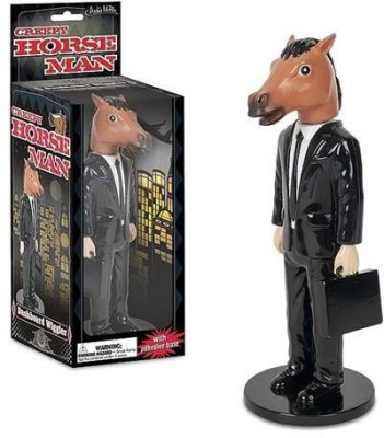 Accoutrements Creepy Horse Man Dashboard Wiggler 6