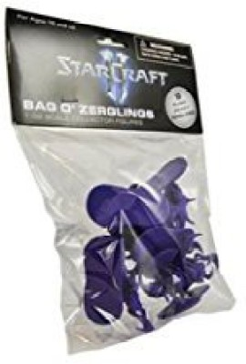 Blizzard Entertainment Starcraft Ii Bag O, Zerglings 132 Scale Collector Army Men