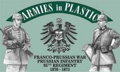 Armies in Plastic Francoprussian War 18701871 Prussian Infantry 95Th