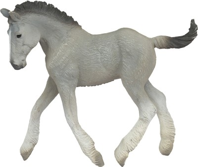 Collecta Collacta Shire Horse Foal Grey Toy Figure
