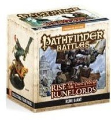 Paizo Publishing WizKids Games Pathfinder Rise Of The Runelords Limited Edition Rune Giant