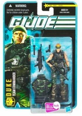 Hasbro Gi Joe Pursuit Of Cobra 3 3/4 Inch Jungle Assault Duke