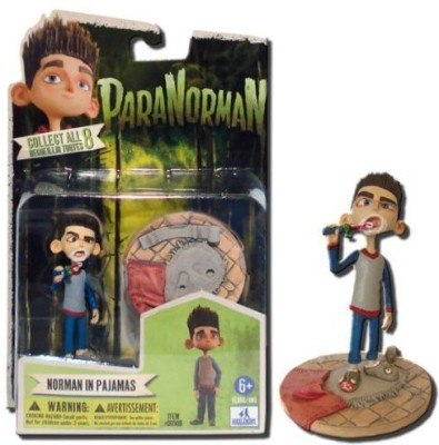 Huckleberry Toys Paranorman Norman Babcock In Pajamas With Toothbrush 4Inch