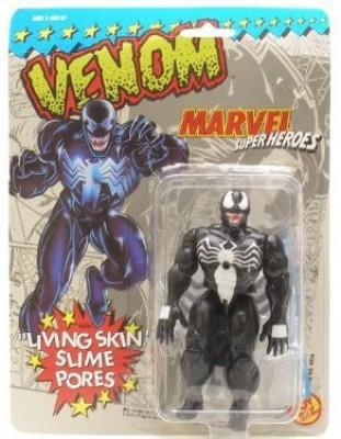 Spiderman Marvel Super Heroes Venom With Living Skin Slime Pores