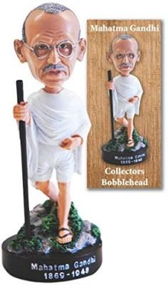 The Bobblehead LLC Mahatma Gandhi Collector Bobblehead Figurine
