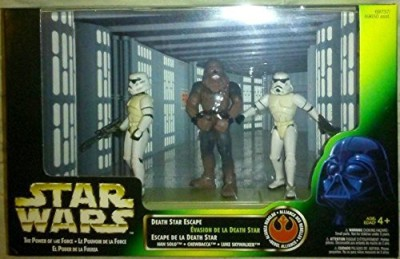 Star Wars Power of the Force Cinema Scenes Death Star Escape Action Figure Multi-Pack