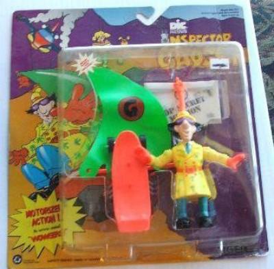 Inspector Gadget Vintage With Gogo Windsurfer Moc