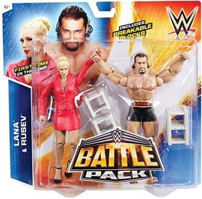 Wrestling Lana & Rusev Wwe Battle Packs 34 Wwe 2Packs
