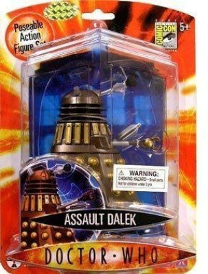 Character Options Doctor Who 2007 Sdcc Exclusive Bronze/Chocolate Assault