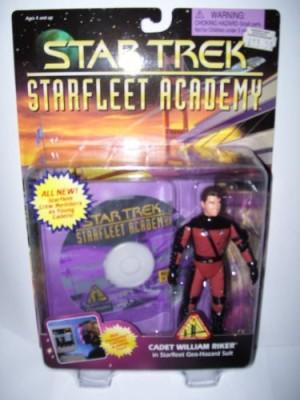 Star Trek Starfleet Academy Cadet Riker
