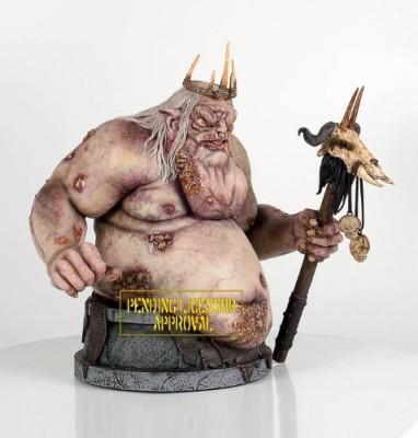 The Hobbit Goblin King Mini Bust