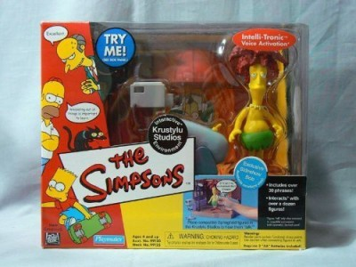 Playmates The Simpsons World Of Springfield Interactive Environment