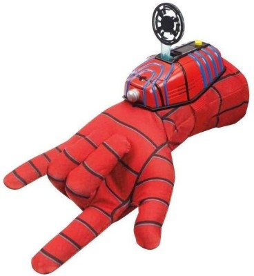 Turban Toys Ultimate Spiderman Gloves with Disc launcher for Kids