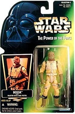 Hasbro Star Wars Power Of The Force Green Card Bossk