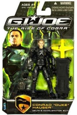 G I Joe Movie The Rise Of Cobra 3 3/4 Inch Duke