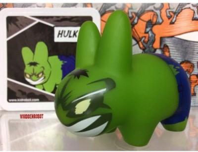 Kidrobot Marvel Labbit Mini Series 2 Hulk 25