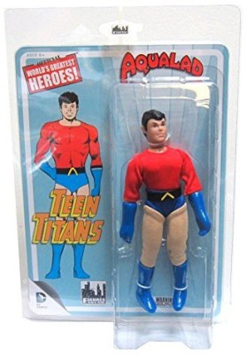 Figures Toy Company Teen Titans Retro 7 Inch Series 1 Aqualad