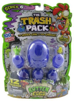 moose The Trash Pack Series 6 Rotten Eggs 12 Pack