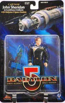 Babylon 5 Captain John Sheridan In Earthforce Uniform 6 Inch