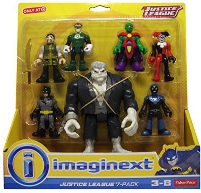 Justice League Fisher Price Imaginext Justice League 7-Pack with Solomon Grundy Exclusive