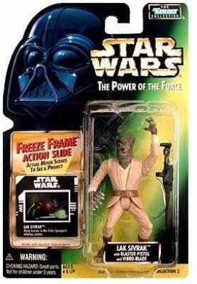Star Wars Power of the Force Freeze Frame Lak Sivrak Action Figure